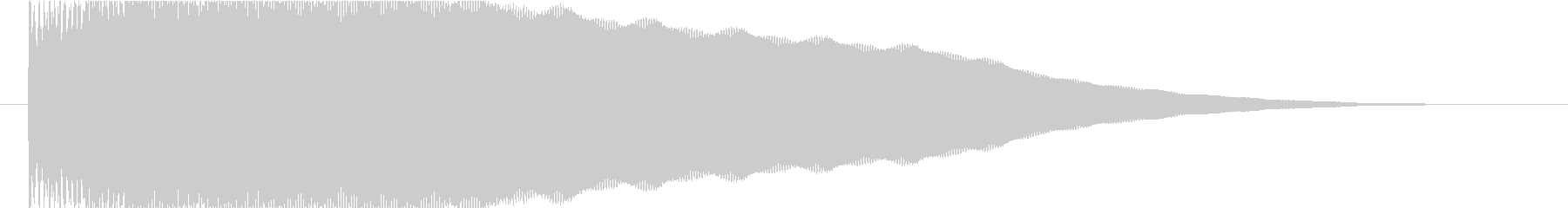 パーカッション サブメタルインパクト02の未再生の波形