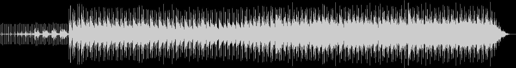クールなネオソウルギターの未再生の波形