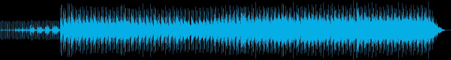 クールなネオソウルギターの再生済みの波形