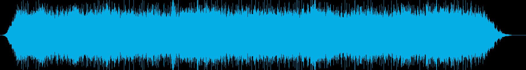 シネマサウンドに最適のBGMの再生済みの波形