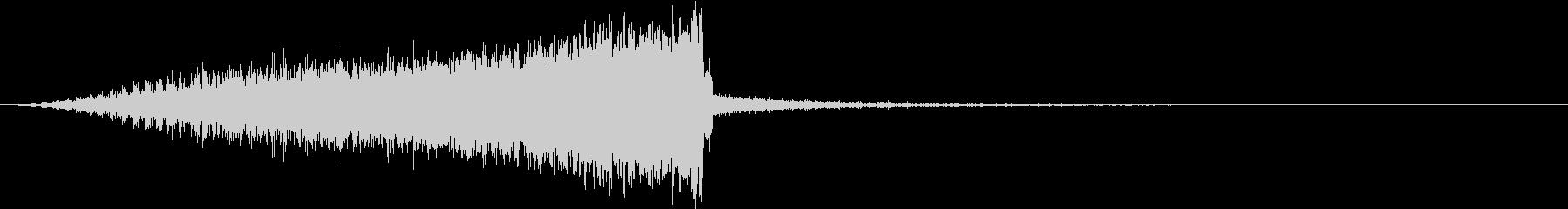 【SF・機械音】ピロピロピロ・・・の未再生の波形