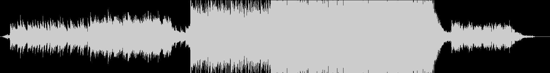 インディーズ ロック 現代的 交響...の未再生の波形