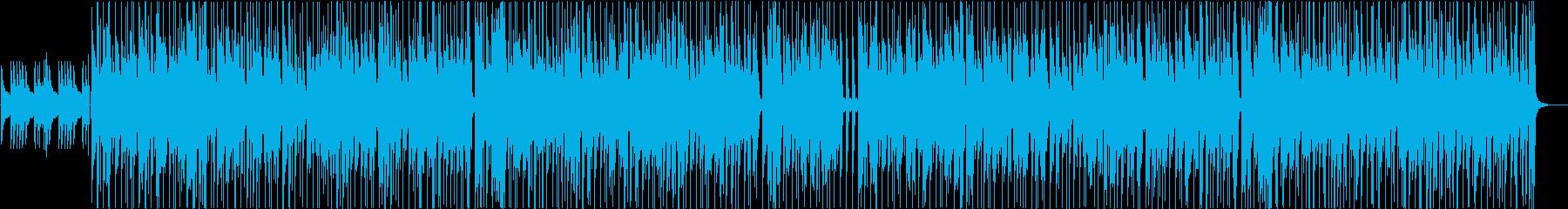 少しダークな雰囲気のチルホップの再生済みの波形