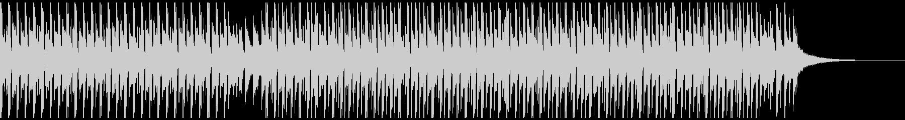 パーティータイム(短)の未再生の波形