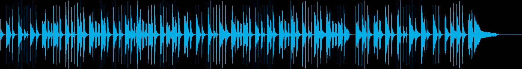 幼児期シーン向けほっこりソングの再生済みの波形