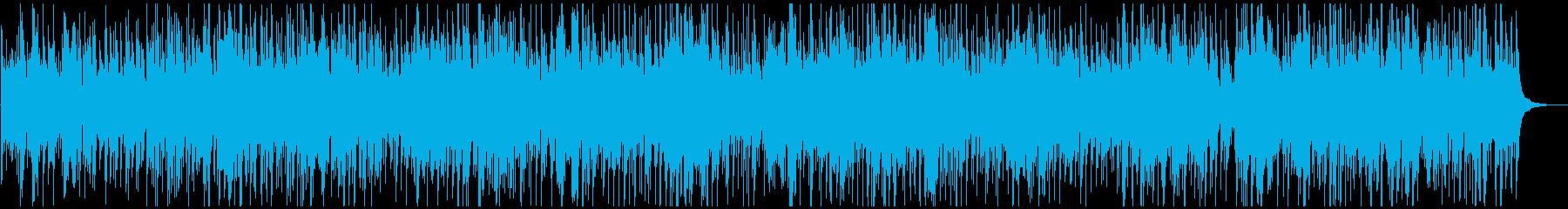 マンドリンソロのカントリーバラードの再生済みの波形