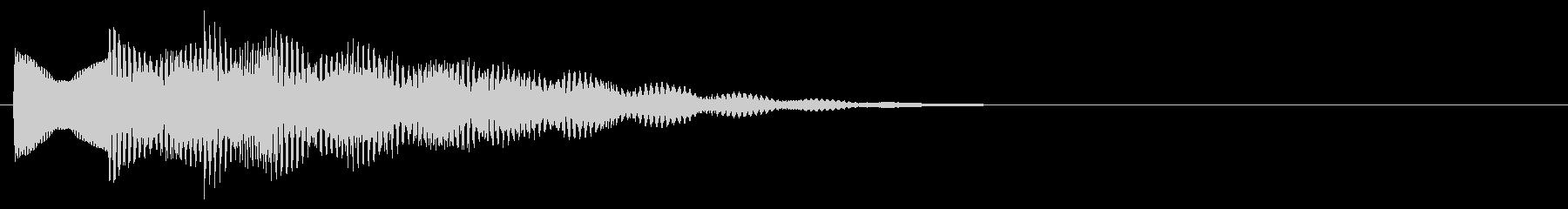 マレット系 決定音09(長三和音)の未再生の波形