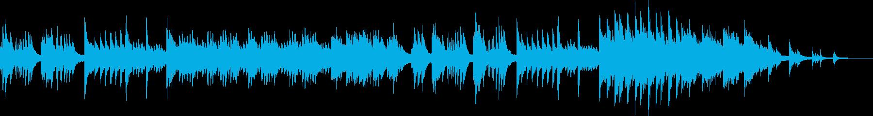 波紋をイメージした甘美なピアノソロの再生済みの波形