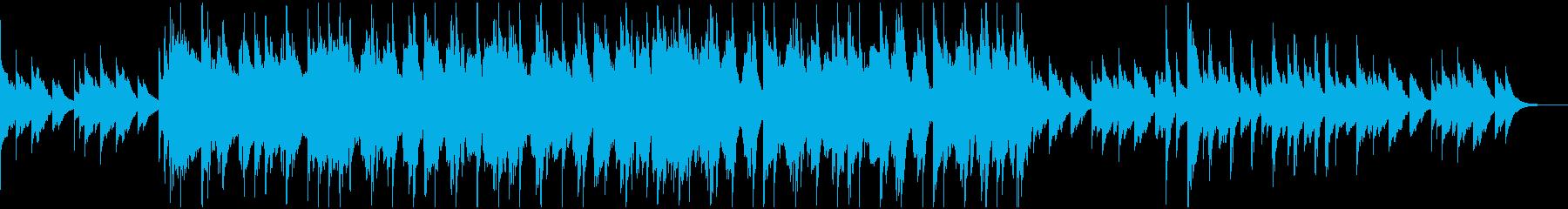 ポップでかわいいカントリー調BGMの再生済みの波形