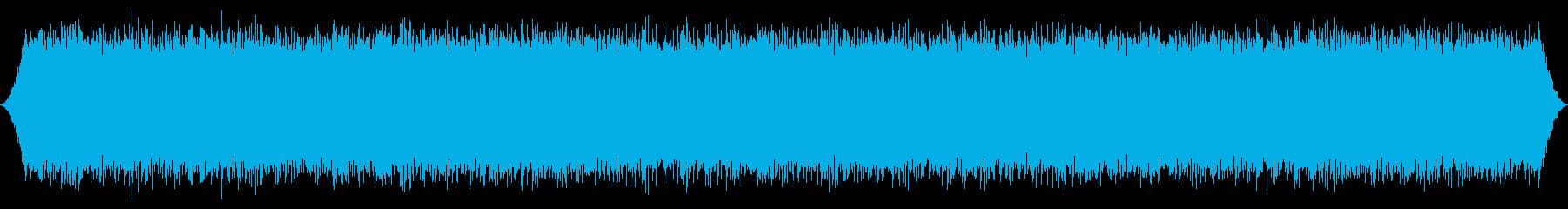 砂漠の風:中程度の孤立、渦巻くWの突風の再生済みの波形