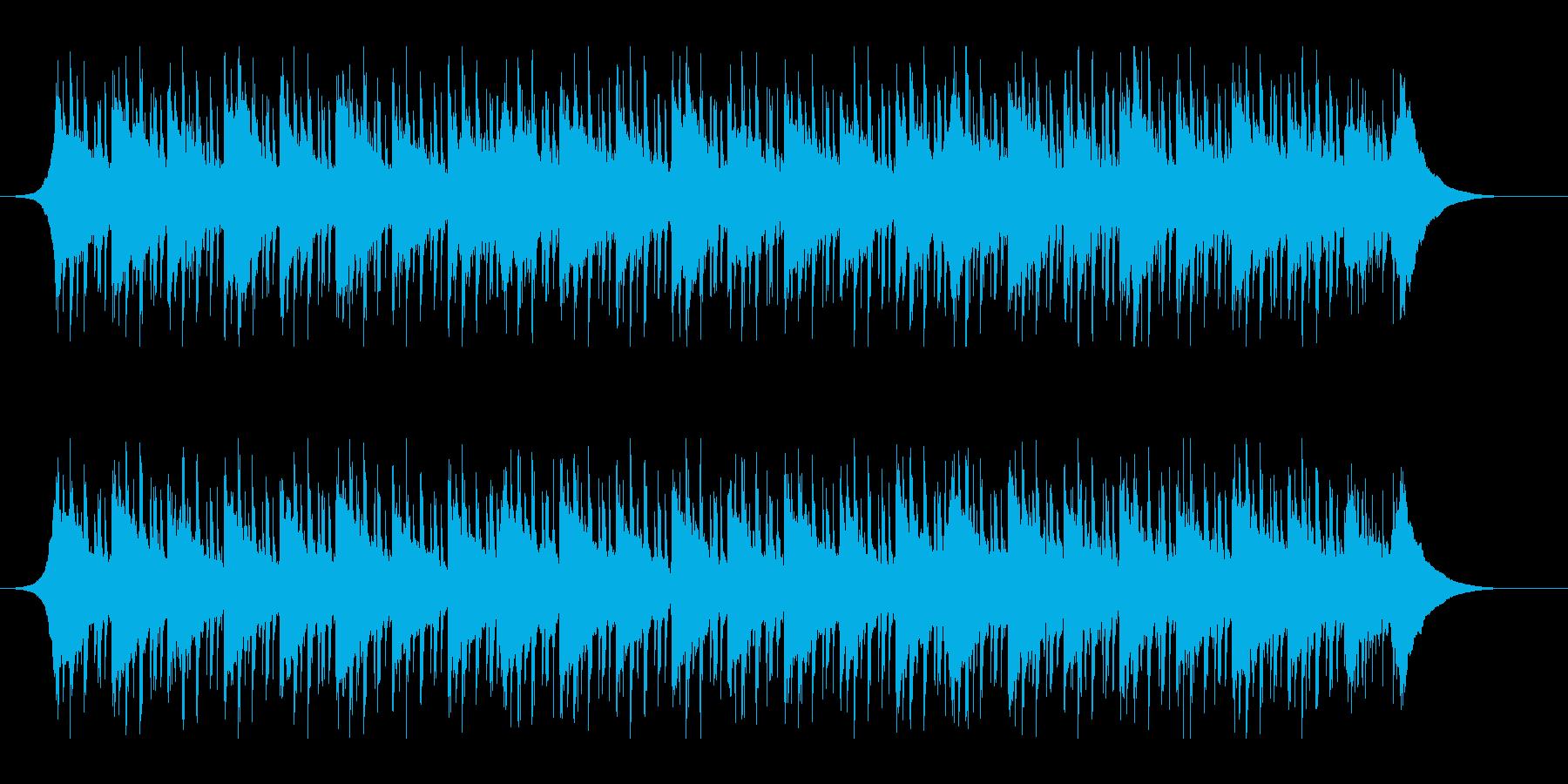 健康管理(60秒)の再生済みの波形