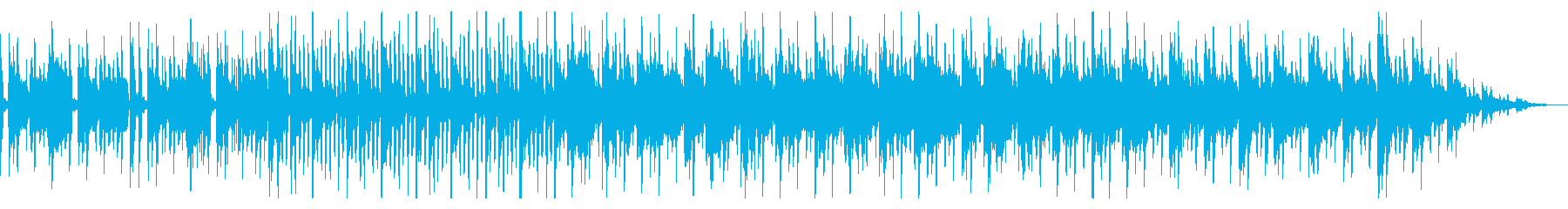 浮遊感ある鍵盤の音色が印象的なチルの再生済みの波形
