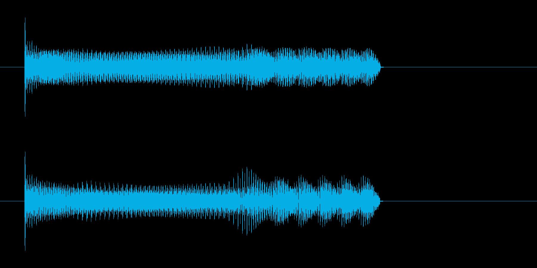 【ビーーーー】エネルギー充填音、充電音の再生済みの波形