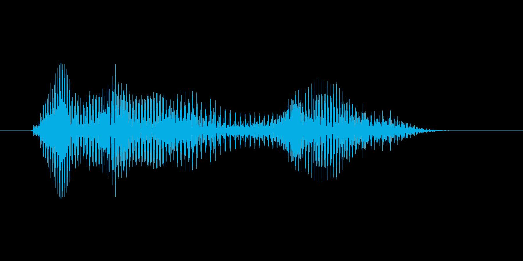 おわっ!(Type-E)の再生済みの波形