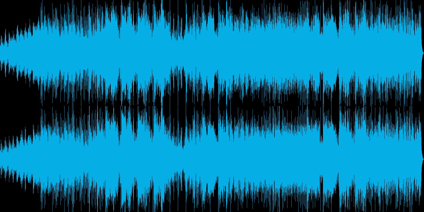 スムースジャズ、フュージョン。パッ...の再生済みの波形