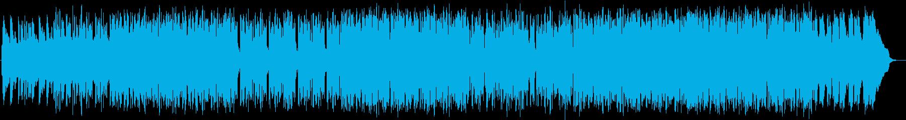 フルートのHip-Hop Jazzの再生済みの波形