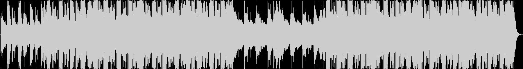 アルペジオが印象的なエレクトロニカBGMの未再生の波形