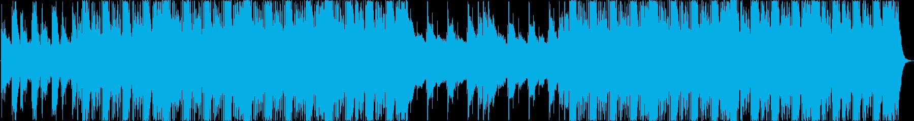 アルペジオが印象的なエレクトロニカBGMの再生済みの波形