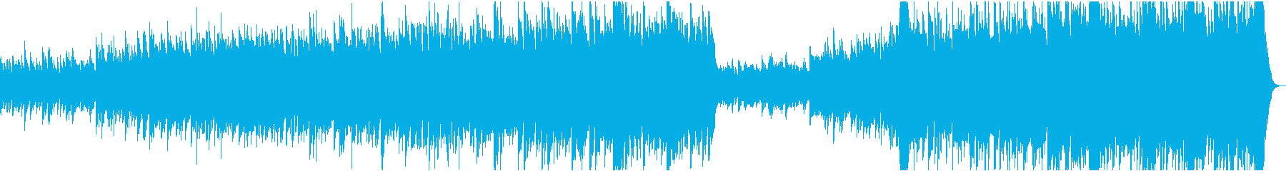 心に強く訴える オーケストラの 音楽の再生済みの波形