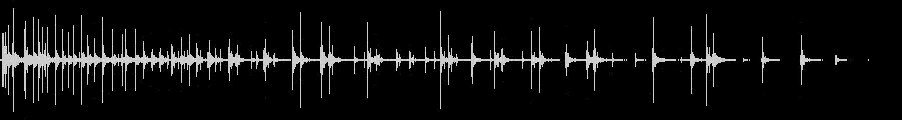 【生録音】絞めつける音 1の未再生の波形