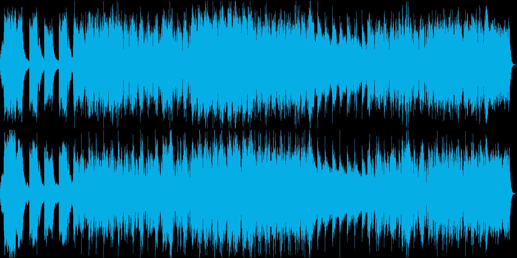 映画トレーラー ブルガリアンボイス合唱の再生済みの波形