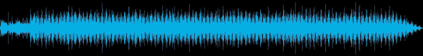 シンプルなテクノ・ポップの再生済みの波形