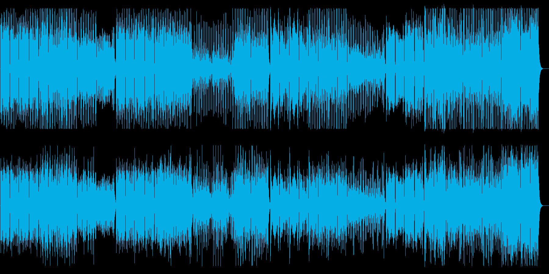 優雅で可憐なクラシカルワルツ風メロディーの再生済みの波形