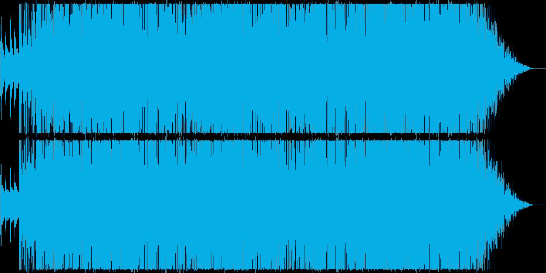 軽快でキャッチーなシティファンクポップスの再生済みの波形