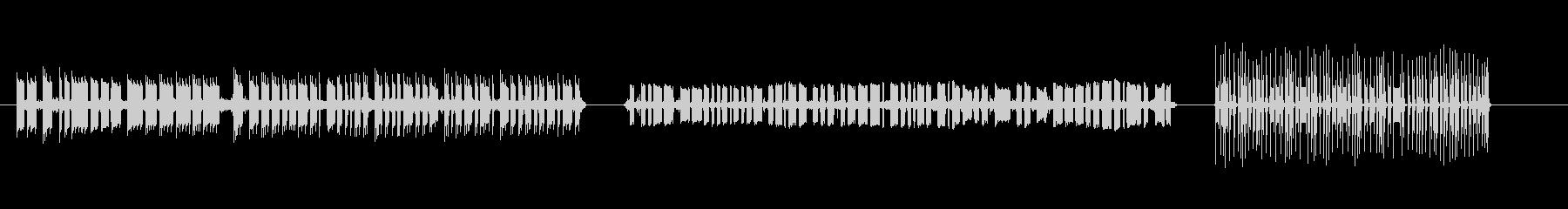 モールス信号モールス信号_送信_受...の未再生の波形