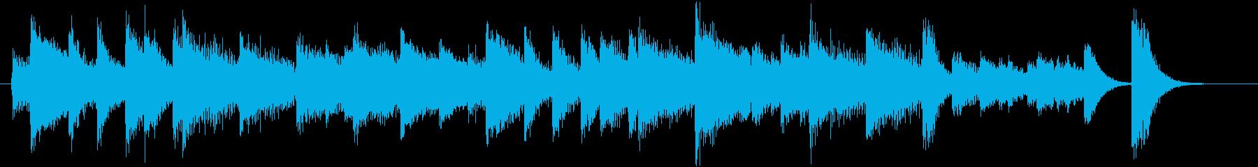Xmasに♪世界に告げよピアノジングルDの再生済みの波形