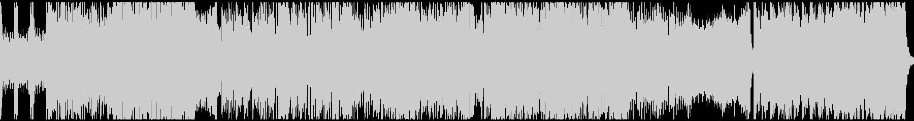 熱いフォークメタル(ループ)の未再生の波形