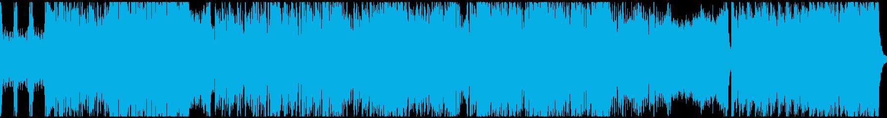 熱いフォークメタル(ループ)の再生済みの波形