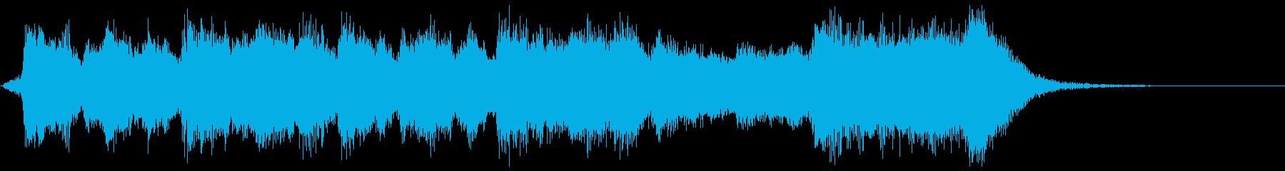 古風で華やかなフルオケジングル合唱抜の再生済みの波形