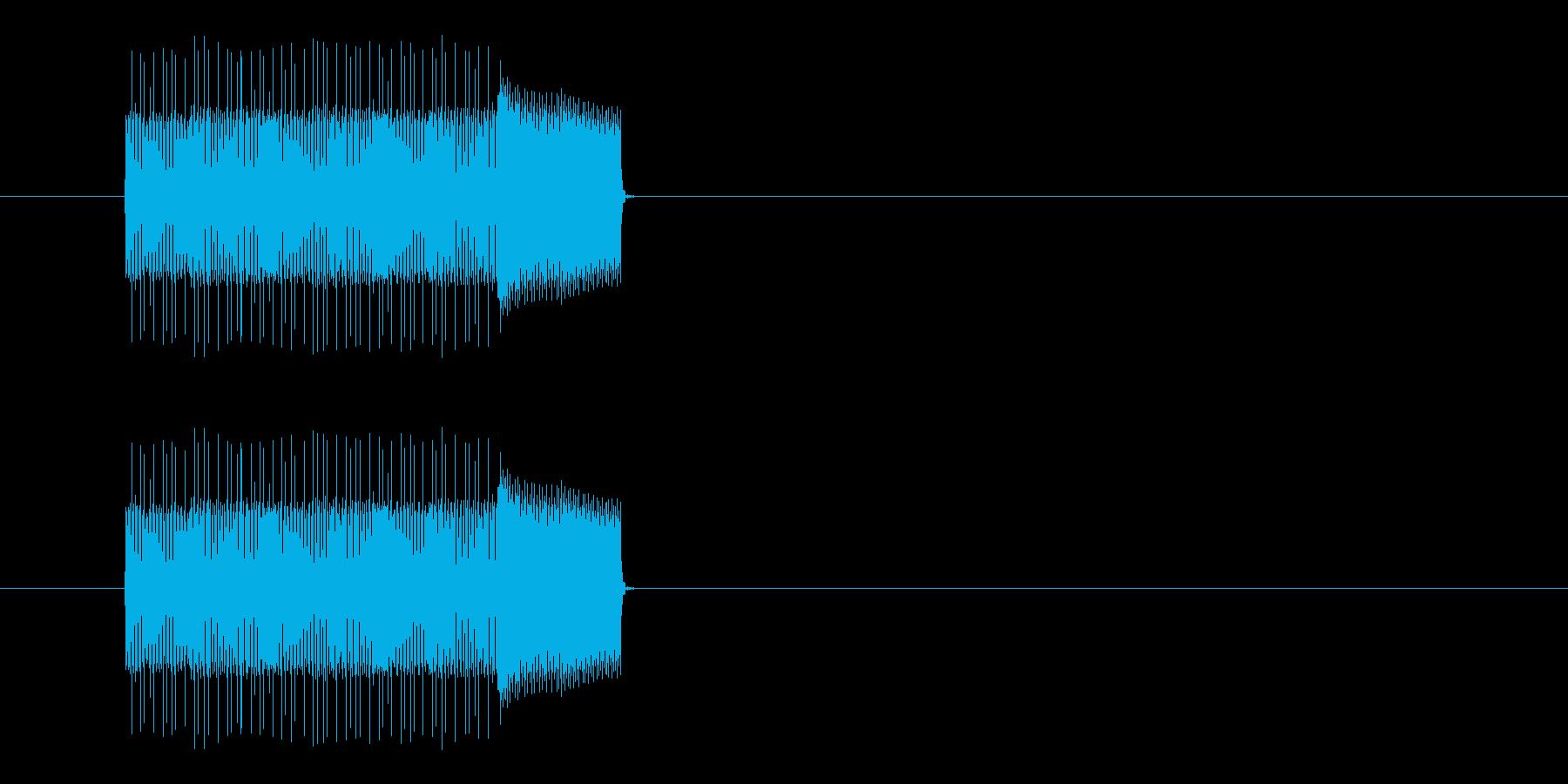 ピロロロロ、ポン!の再生済みの波形