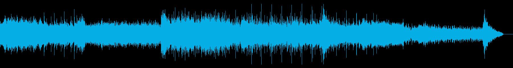 シネマティックなサウンドスケープの再生済みの波形