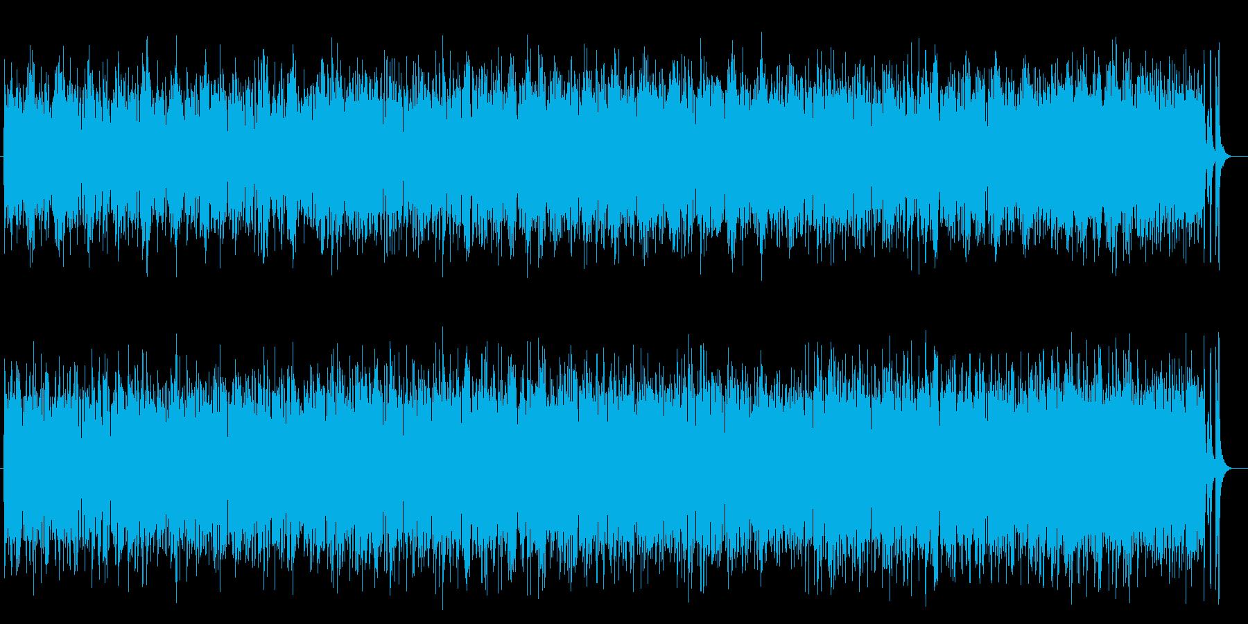 さわやかなポップフュージョンの再生済みの波形