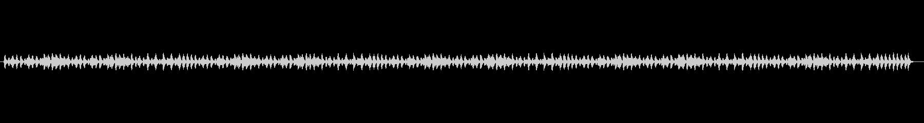 のんびりとしたBGMの未再生の波形