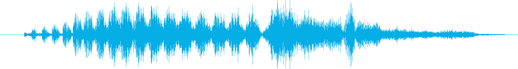 モンスター グリッチトーク06の再生済みの波形