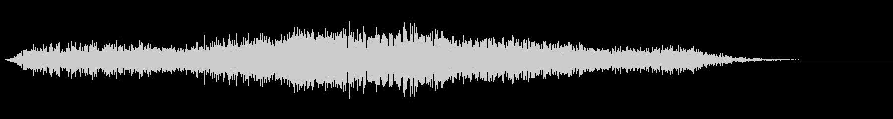 【生録音】 早朝の街 交通 環境音 8の未再生の波形