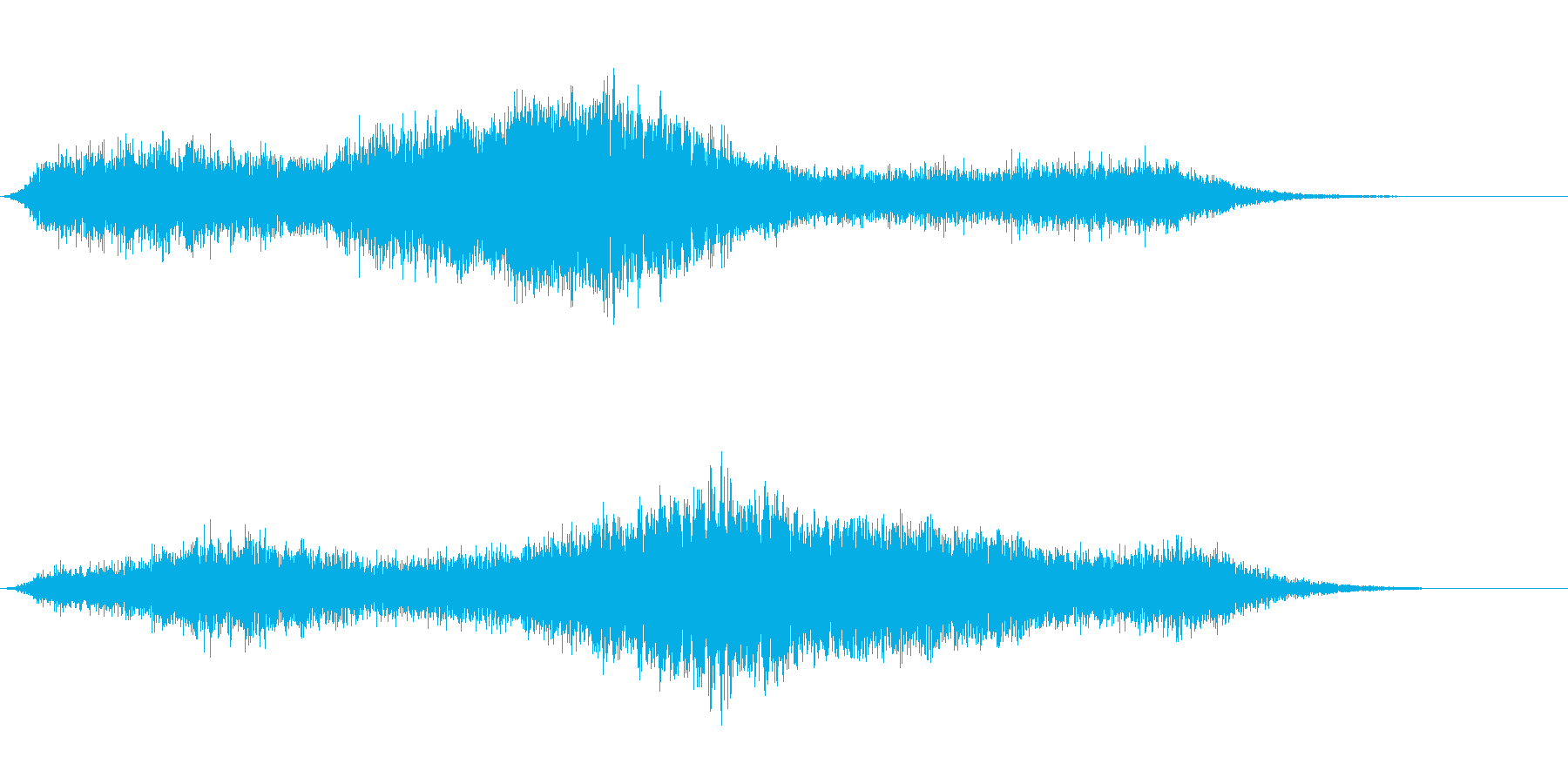 【生録音】 早朝の街 交通 環境音 8の再生済みの波形