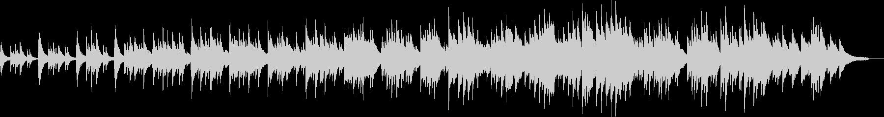 感動的なシーンに適したピアノソロ曲の未再生の波形