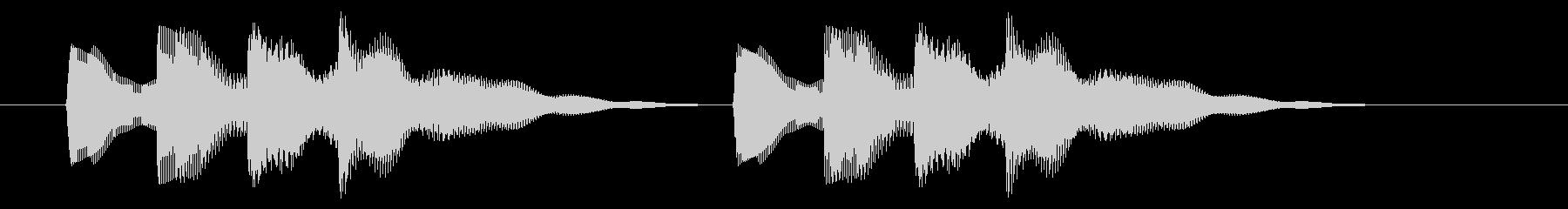 ニュース アラート03-2の未再生の波形