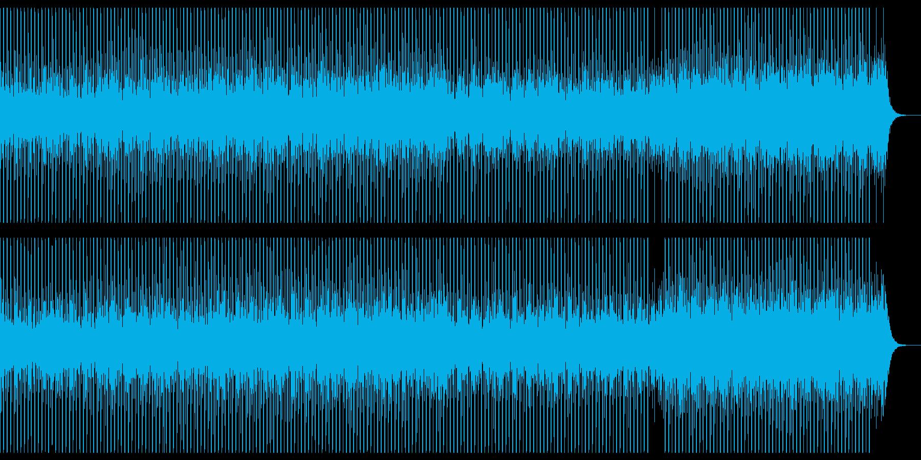 技術プレゼンテーションの再生済みの波形