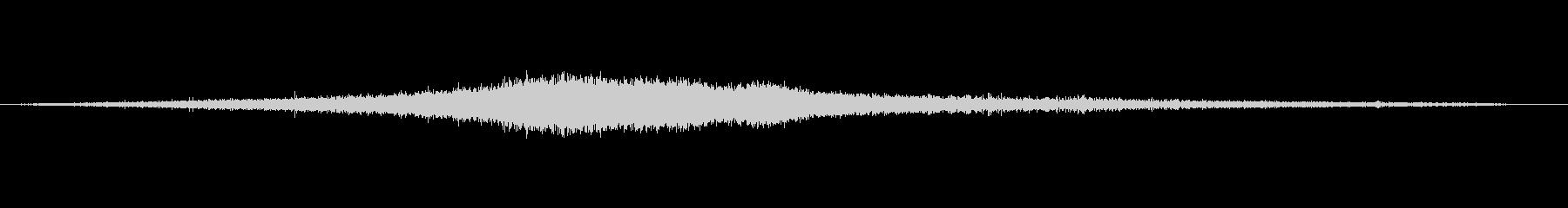 1986シボレーセレブリティ:ドラ...の未再生の波形