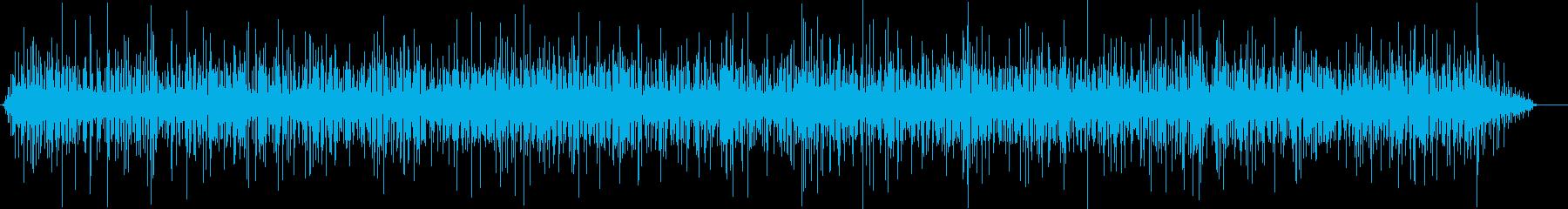 ウッドファイヤースモール。ファイア...の再生済みの波形
