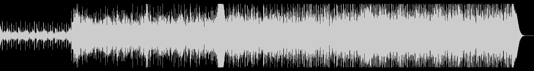 ノイジーなシネマティックIDMの未再生の波形