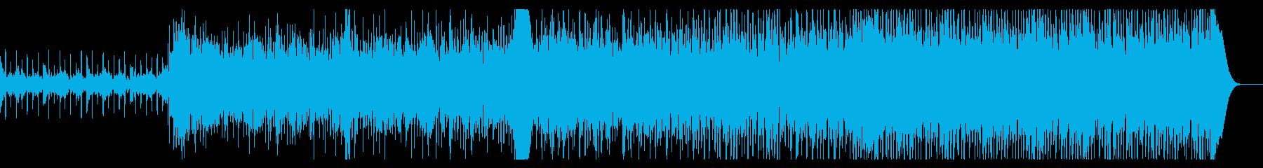 ノイジーなシネマティックIDMの再生済みの波形