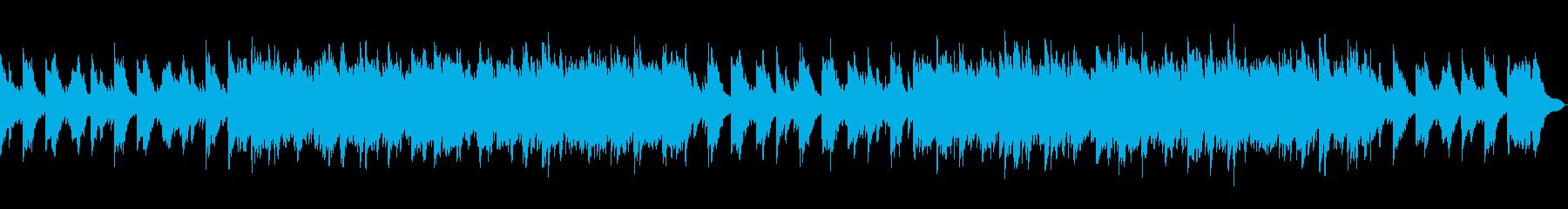 ヒーリング・リラックス ピアノの再生済みの波形