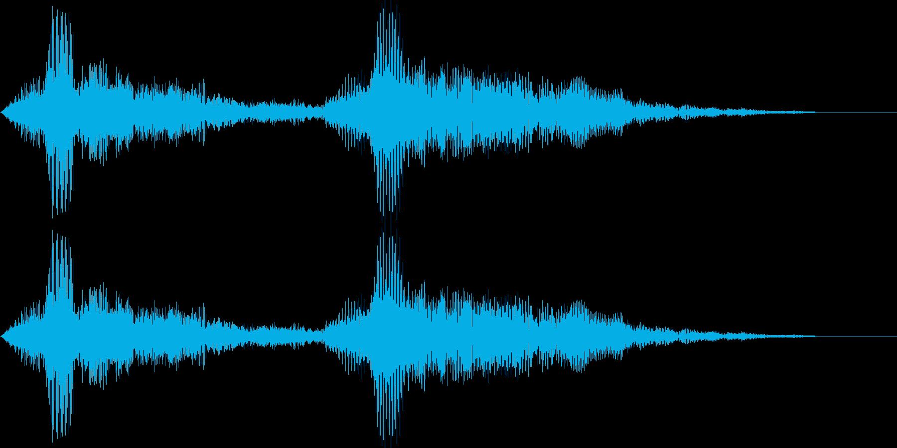 ローエンドボーカルドローンの再生済みの波形