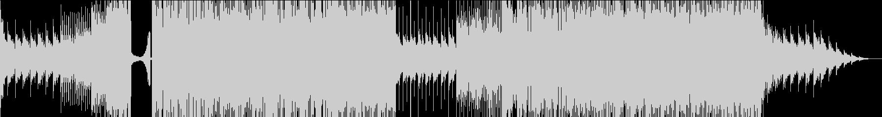 エッジの効いたワブルベースのダブステップの未再生の波形